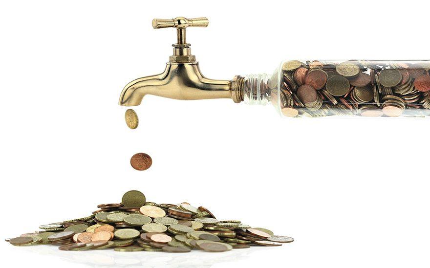 fugas de dinero comunes